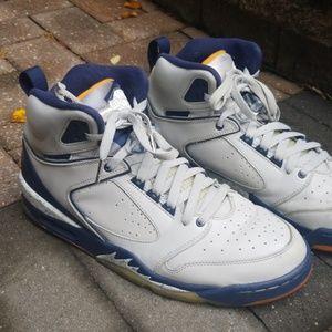 Air Jordan 60+ sixty plus gray/blue/orange